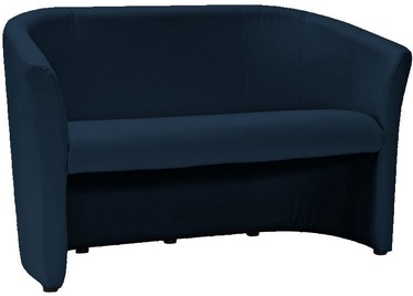 Sofa Signal Meble TM-2 Navy Blue, 126 x 60 x 76 cm