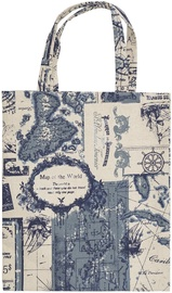 Home4you Home 34x40cm Cloth Bag With Handles Map Of The World