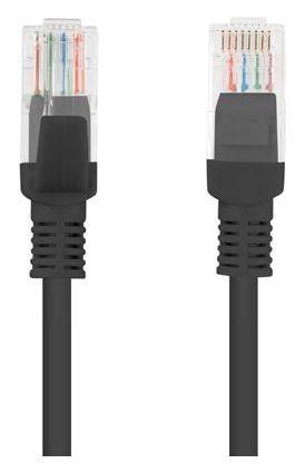Lanberg Patch Cable UTP CAT5e 3m Black