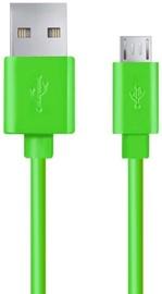 Esperanza Cable USB to USB-micro Green 1.2m