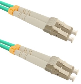 Qoltec Fiber Optic Cable Multimode LC/UPC to LC/UPC 50/125 OM4 10m