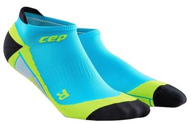 CEP Men's No-Show Socks Hawaii Blue/Green 5