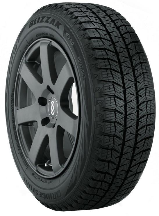 Žieminė automobilio padanga Bridgestone Blizzak WS80, 225/55 R17 101 T XL