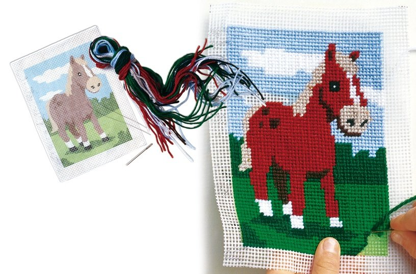 SES Creative Children's Embroidery Horse 00867