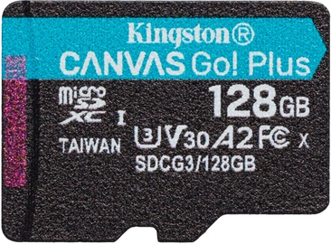 Kingston Canvas Go! Plus 128GB microSDXC UHS-I Class10