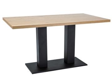 Signal Meble Sauron Oak Table 180x90cm Oak/Black