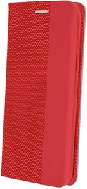 OEM Smart Senso Book Case For Samsung Galaxy A41 Red