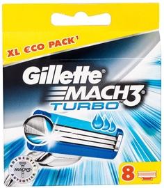 Gillette Mach3 Turbo Blades 8pcs