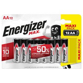 Alkaline baterijas Energizer Max AA B12 1.5V