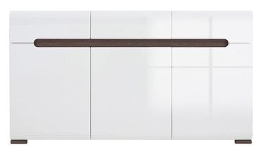 Black Red White Drawer Azteca S205-KOM3D3S/8/15 White