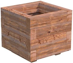 4IQ Vaiva Wooden Flower Pot