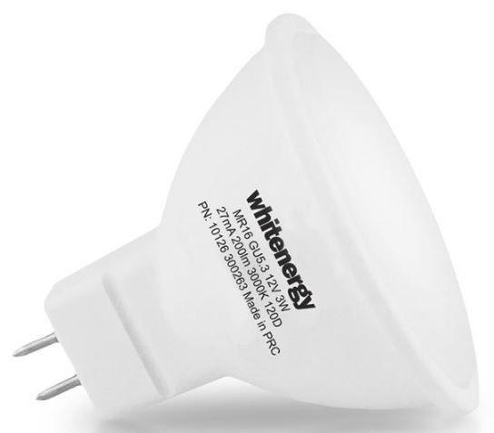 Whitenergy LED Bulb 3W 12V Warm White