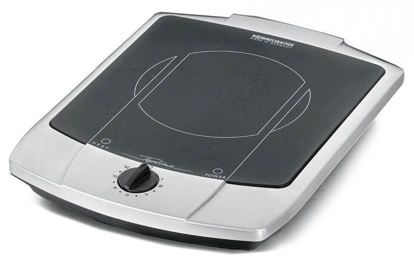 Rommelsbacher Cooking Plate CT 1800/E Inox/Black