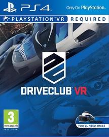 Игра для PlayStation 4 (PS4) Driveclub VR PS4 VR