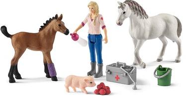 Фигурка-игрушка Schleich Farm World Vet Visiting 42486