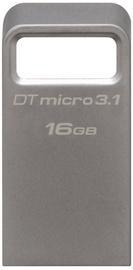 Kingston 16GB DataTraveler Micro Memory Stick USB 3.1 Silver