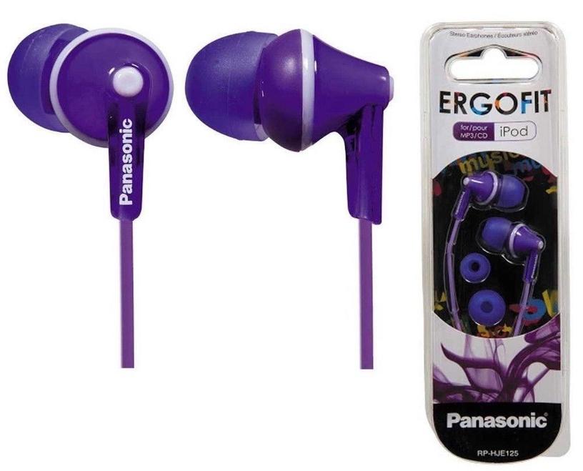 Ausinės Panasonic HJE125E Violet