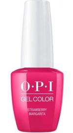 Лак-гель OPI Gel Color Strawberry Margarita, 15 мл