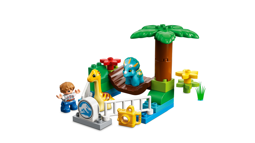Конструктор LEGO Duplo Gentle Giants Petting Zoo 10879 10879, 24 шт.