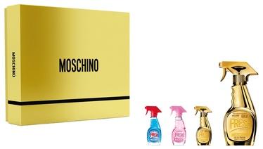 Rinkinys moterims Moschino Fresh Gold Couture 4pcs Set 65 ml