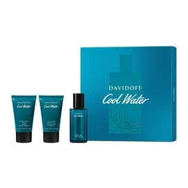 Набор для мужчин Davidoff Cool Water 40 ml EDT + 50 ml Shower Gel + 50 ml Aftershave Balm