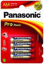 Panasonic LR03 Alkaline Battery AAA x 4