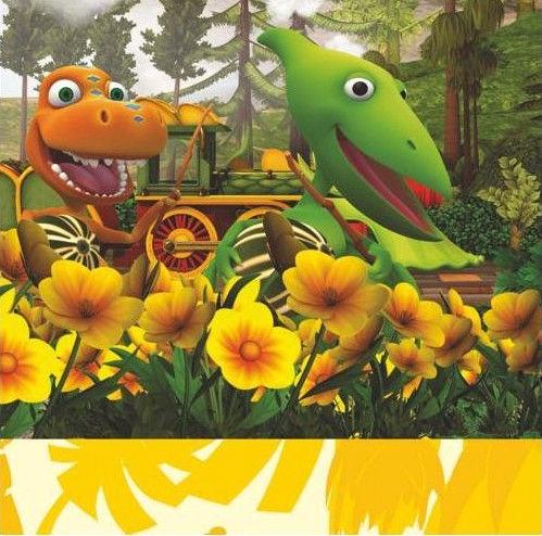 Pap Star Dinosaur Train Napkin 20pcs Multicolored
