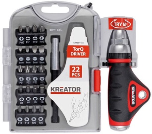 Kretaor PH, PZ, FL, TORX Bit Set 22pcs