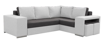 Idzczak Meble Macho Corner Sofa Right Dark Grey/White