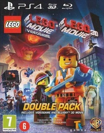 LEGO Movie Videogame and LEGO Movie 3D Blu-Ray Double Pack PS4