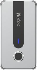 Жесткий диск Netac Z11, SSD, 500 GB, серебристый