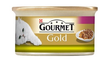 Purina Gourmet Gold DUO with Rabbit and Liver 85g
