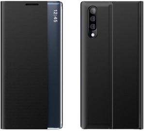 Hurtel Sleep Bookcase For Samsung Galaxy A70 Black