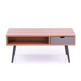 Kafijas galdiņš Homede Mexo, valriekstu, 1000x500x420 mm