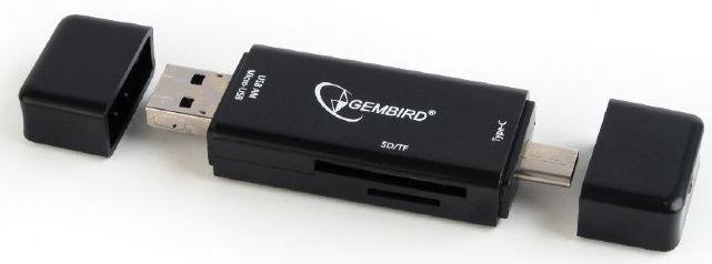Gembird Multi-USB Card Reader OTG Black