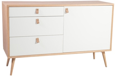 Home4you Chest Of Drawers Helena White/Oak