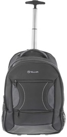 Tellur Carry Laptop Backpack With Trolley USB 15.6'' Black