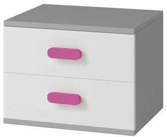 Idzczak Meble Smyk II 22 Nightstand Grey/Pink