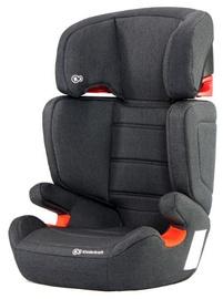 Mašīnas sēdeklis KinderKraft Junior Fix Black, 15 - 36 kg
