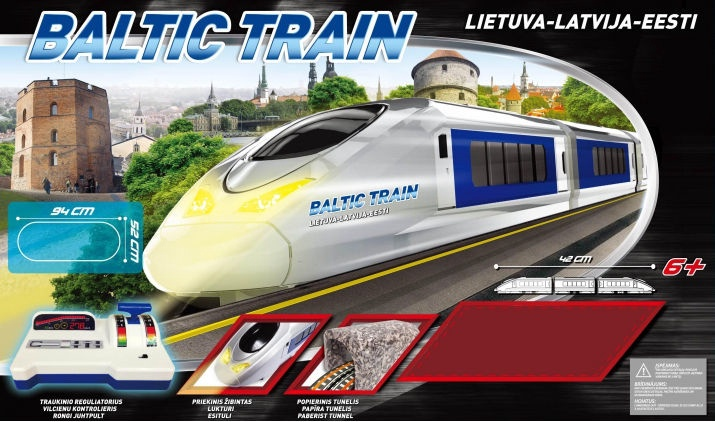 Golden Bright Master Railway Bullet Train 8400