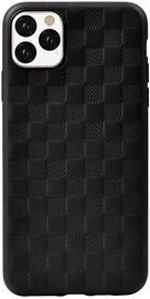 Чехол Devia Woven2 Pattern Design Soft for iPhone 11 Pro, черный