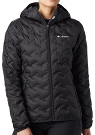 Columbia Delta Ridge Down Hooded Womens Jacket 1875932010 Black M