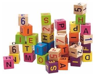 Woodyland Alphabet Blocks and Numbers