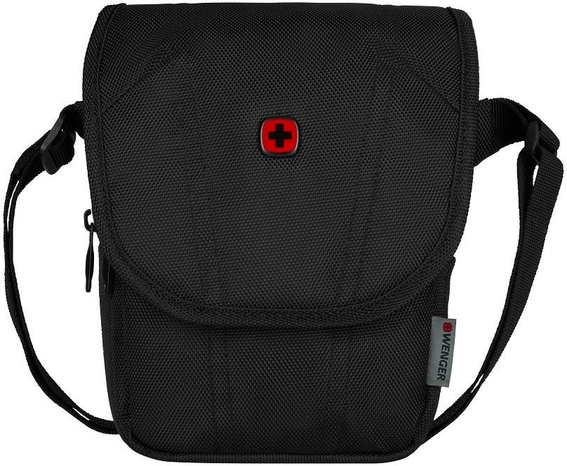Wenger BC High Flapover Crossbody Bag Black
