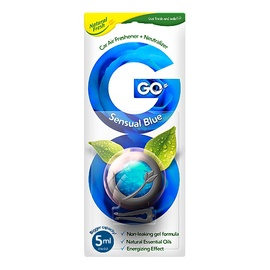 Automobilio kvapas Natural Fresh GO Sensual Blue
