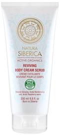 Natura Siberica Reviving Body Cream Scrub 200ml