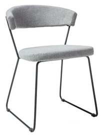 Стул для столовой Signal Meble Helix Black Grey, 1 шт.