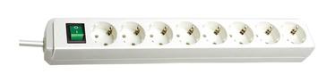 Pikendusjuhe Brennenstuhl Power Strip 8-Outlet 250V 16A 3m White