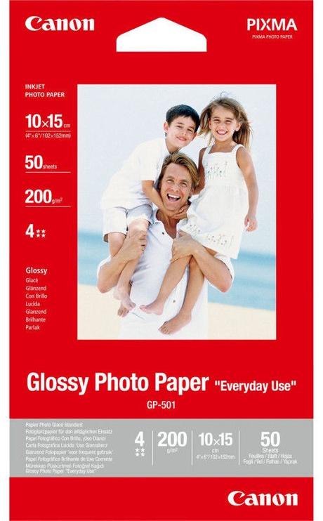 Canon GP-501 Photo Paper 10x15 Glossy 50pcs