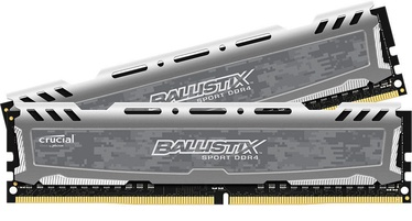 Crucial Ballistix Sport LT Gray 32GB 3000MHz DDR4 CL16 SR KIT OF 2 BLS2K16G4D30CEST